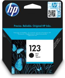HP HP123 INK BLACK