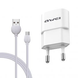 AWEI C-831 + CABLE TYPE-C BLANC