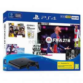 PLAYSTATION PACK CONSOLE PS4 500GO + FIFA21
