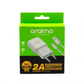 ORAIMO CHARGEUR+CABLE LIGHTNING CU-60ARL