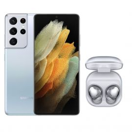 MAI-SMARTPHONE S21ULTRA SILVER+ECOUTEURS GALAXY BUDS PRO SILVER